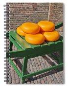 Wheels Of Dutch Gouda Cheese Spiral Notebook