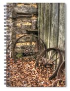 Wheels Of Time Two Spiral Notebook