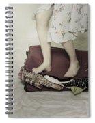 When A Woman Travels Spiral Notebook
