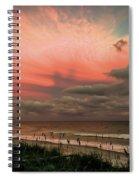 When Angels Blush Spiral Notebook