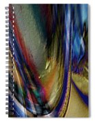 When Beauty Visits The Hard Place Spiral Notebook