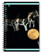 When Cows Jump Over The Moon Spiral Notebook