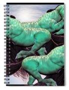 When Lightning Strikes Spiral Notebook