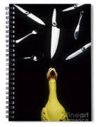 When Rubber Chickens Juggle Spiral Notebook