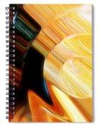 When Textures Play Spiral Notebook