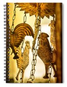 When The Rooster Crows Spiral Notebook