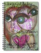 When We Find Love Spiral Notebook
