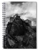 Italian Landscape - Where Dragons Fly  Spiral Notebook