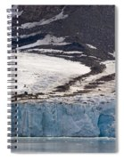 Where Glaciers Meet Spiral Notebook