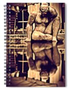 Seeking Lost Dreams In Water - Where Is My Future Spiral Notebook