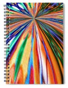 Where It All Began Abstract Spiral Notebook