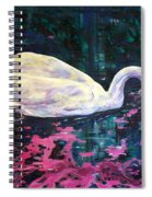 Where Lilac Fall Spiral Notebook