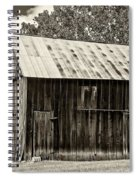 Where March Madness Begins Sepia 2 Spiral Notebook