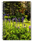 Where The Lupines Grow Spiral Notebook