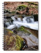 Where The River Flows Spiral Notebook