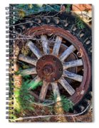 Where The Rubber Meets The Road Spiral Notebook