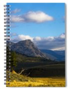 Where The Valley Leads Spiral Notebook
