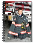 Where's The Fire? Spiral Notebook