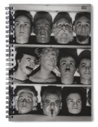 Find The Real Ventriloquist Head Spiral Notebook