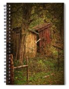 Which Way To The Outhouse? Spiral Notebook