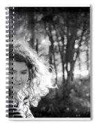 While Walking Along A Path Spiral Notebook