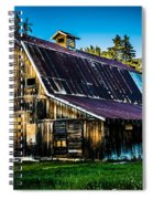 Whimsical Barn Spiral Notebook