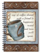 Whimsical Coffee 2 Spiral Notebook