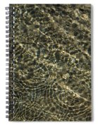 Whimsical Sparkling Sunny Water Play Spiral Notebook