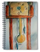 Whimsical Time Piece Spiral Notebook
