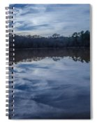 Whipped Cream Christmas Reflection Spiral Notebook