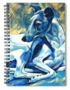 Whippet-effects Of Gravity 5 Spiral Notebook