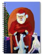 Whippet Talk Spiral Notebook