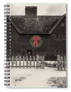 Whipple House Christmas Spiral Notebook