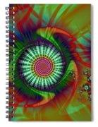 Whirligigs Spiral Notebook
