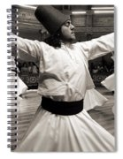 Whirling Dervishes Spiral Notebook
