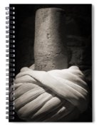 Whirling Dervishes Turban Black And White Spiral Notebook