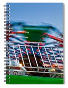 Whirling Into Fall Spiral Notebook