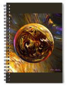 Whirling Wood  Spiral Notebook