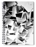 Whirlstructure I Spiral Notebook
