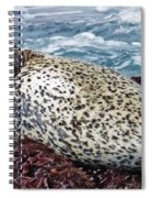 Whiskers And Spots Spiral Notebook