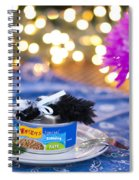 Whiskers Special Birthday Pate Spiral Notebook