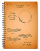 Whiskey Barrel Patent Spiral Notebook