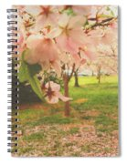Whispering Cherry Blossoms Spiral Notebook