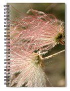 Whispering Pink Spiral Notebook