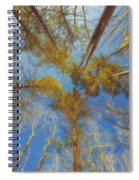 Whispering Trees Spiral Notebook
