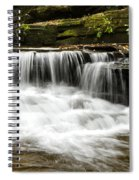 Whispering Waterfall Landscape Spiral Notebook