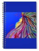 Whispering Wind Spiral Notebook
