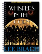 Whispers In The Corn Book Cover Spiral Notebook