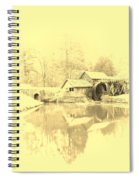 Whispers Of Mabry Mill Spiral Notebook