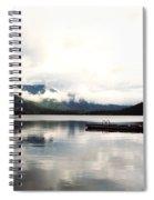 Whistler Lake Bc Spiral Notebook